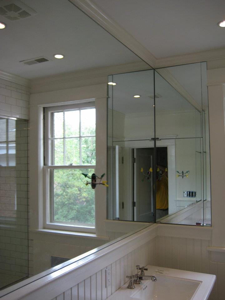 Glass - Custom Cut Bathroom Mirrors