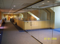 Commercial Glass - Office and Mezzanine