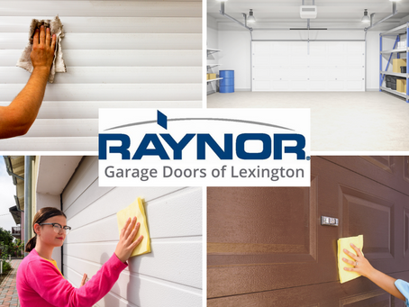 When Was the Last Time You Cleaned Your Garage Door?