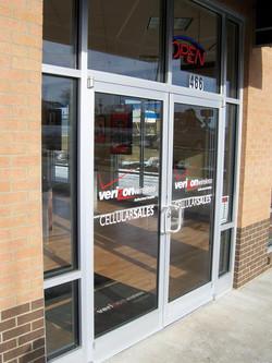 Commercial Glass - Verizon