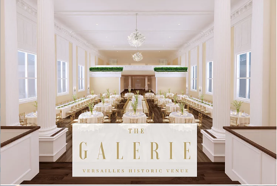 The Galerie Versailles Historic Venue
