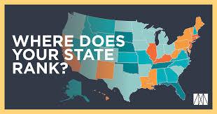 Legislative Update - State Rankings