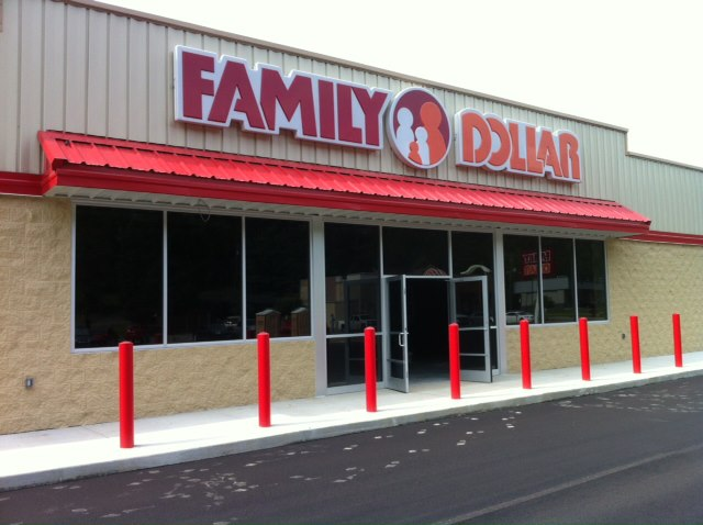 Commercial Glass - Family Dollar Storefront
