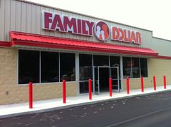 Commercial Glass - Family Dollar Storefront