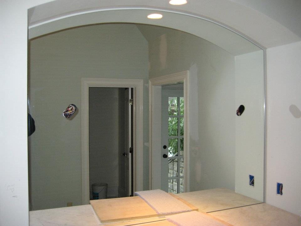 Glass - Arch Top Mirror