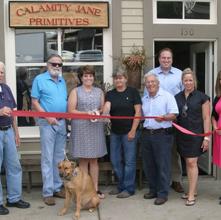 Calamity Jane Primitives Ribbon Cuttin