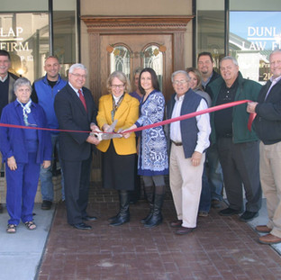 Dunlap Law Firm Ribbon Cutting