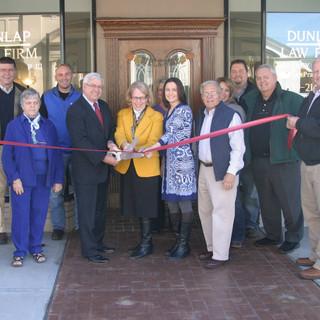 Dunlap Law Firm Ribbon Cutting