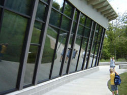 Commercial Glass - Raven Run Nature Sanctuary