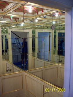 Glass - Mirrored Bathroom