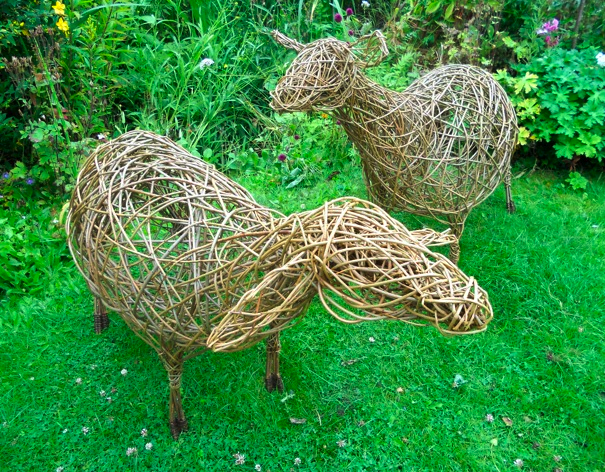 Willow sheep - Alison Walling