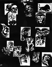 Expressions in Charcoal