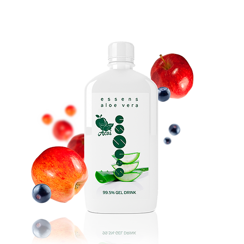 Фото: Aloe Vera 99,5% питьевой гель - Яблоко + Асаи