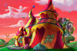 Concept Painting - YMO house