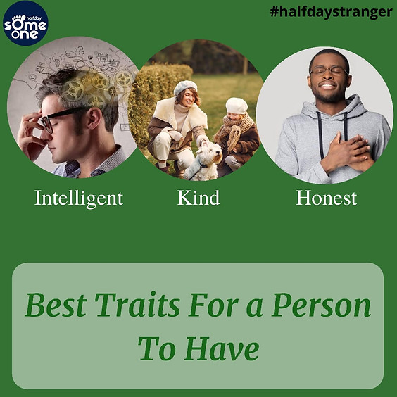 Best traits for a person to have