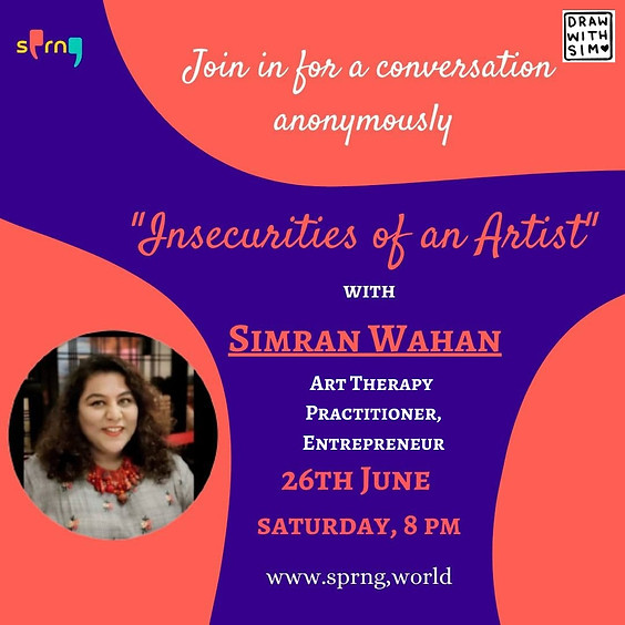 Insecurities of an Artist with Art Therapy Practitioner