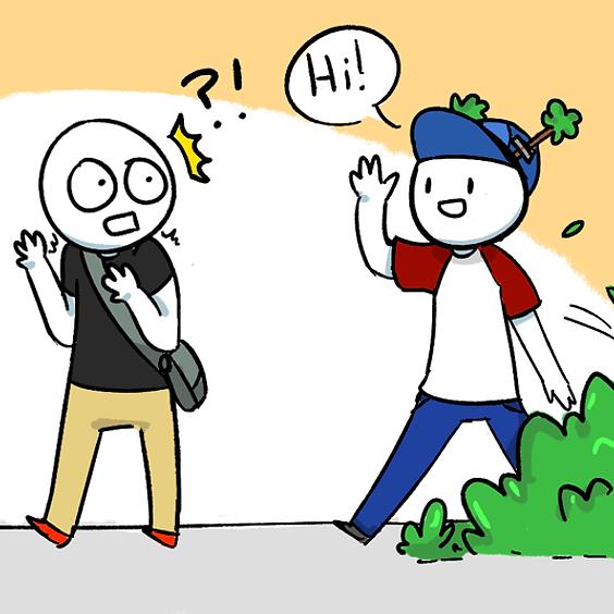 The weirdest way you met a friend for life