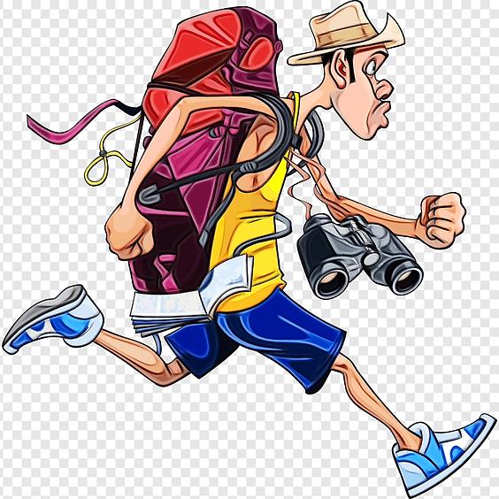 Backpack Traveling