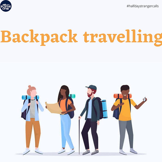Backpack travelling