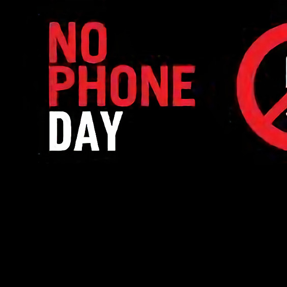 A day without mobile phones