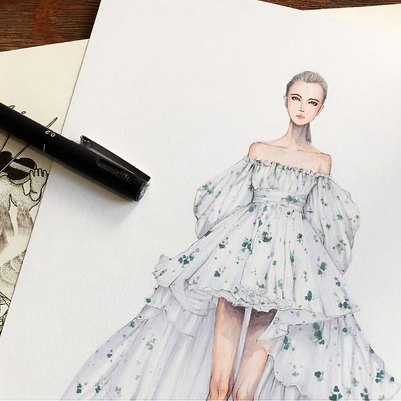 In the shoes of a Fashion Designer