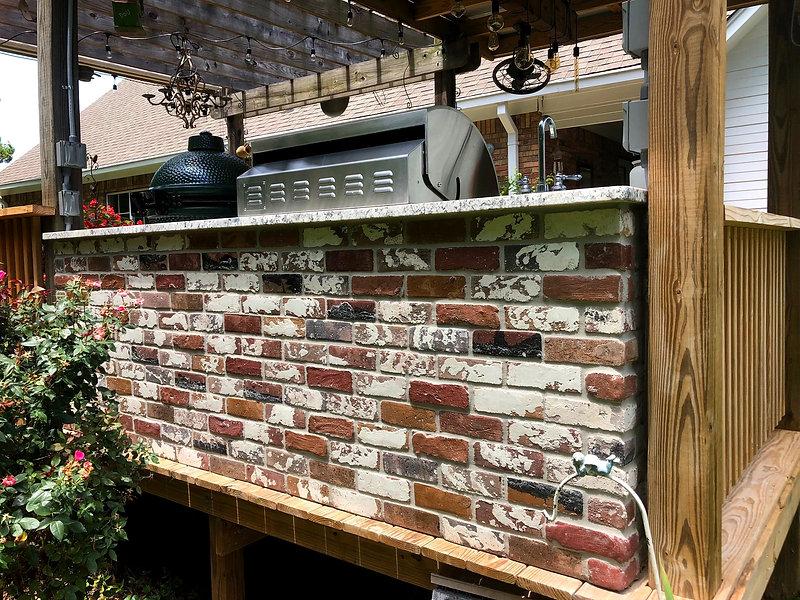 Gary Beeland - Outdoor cooking center 3.