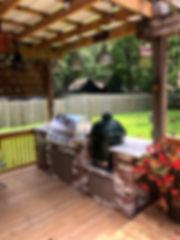 Gary Beeland - Outdoor cooking center 4.