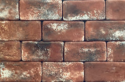 French Quarter brick color. Brick size 4X8.  Thin brick for use on floors or walls.