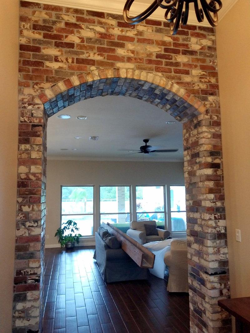 Thin Brick Archway