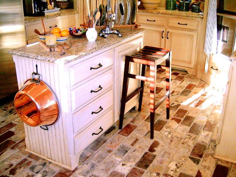 St. Louis brick floor in kitchen.jpg