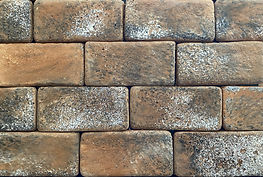 Old South Brick Color.  Thin brick for use on floors or walls.  Brick size 4X8