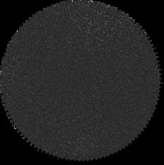 Schwarze Kreis-Abzeichen