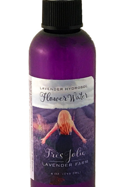 Lavender Flower Water Hydrosol Spray 4 oz (118.3 ml)