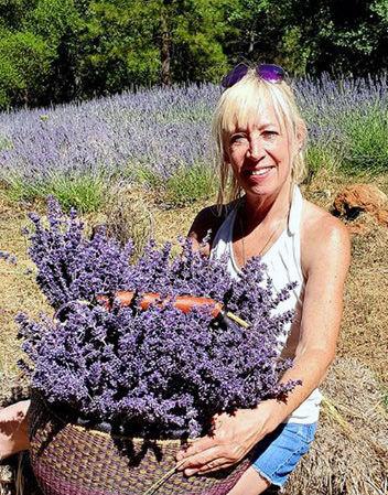 Christine With Lavender.jpg
