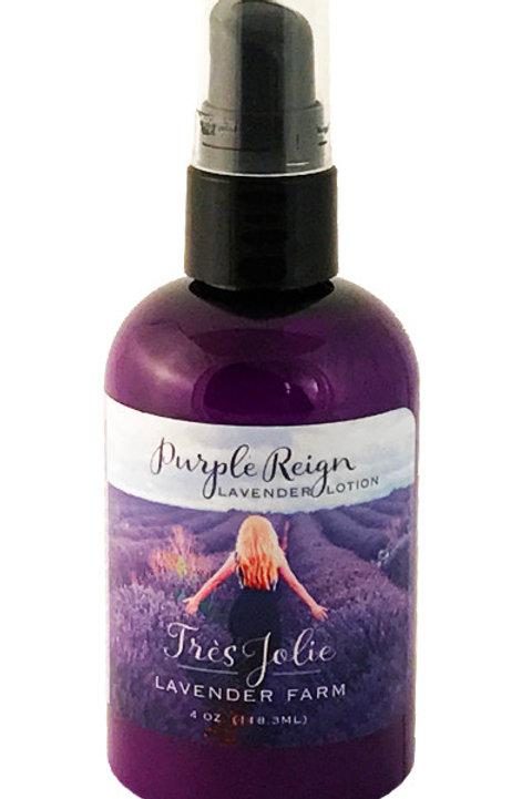 Purple Reign Lavender Lotion 4 oz (118.3 ml)