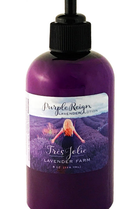 Purple Reign Lavender Lotion 8 oz (236.6 ml)
