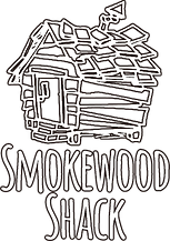 Smokewood Shack BBQ Smoking Wood Logo