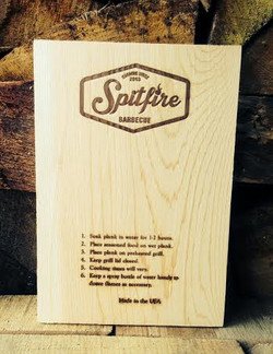 20 cm Spitfire BBQ Cedar Plank