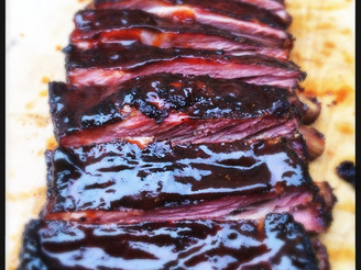 Sweet & Saucy BBQ Spare Ribs.