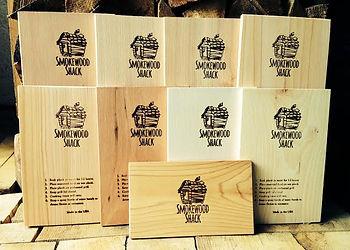 Smokewood Shack's Range of Grilling Planks