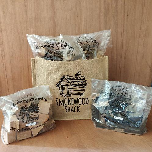 Smoking Wood Chunk Collection