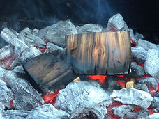 Smoking Wood Chunks