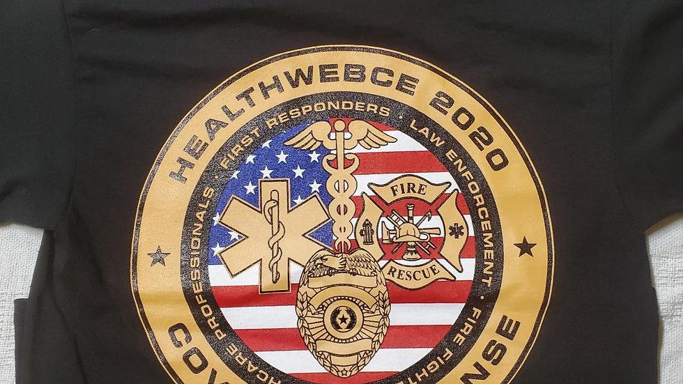 HealthWebCE COVID19 First Responder T-Shirt