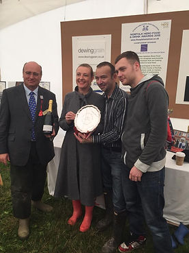 We won Norfolk Hero Food and Drink Awards 2015
