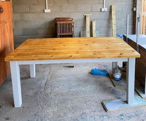 Oak Dinner Table