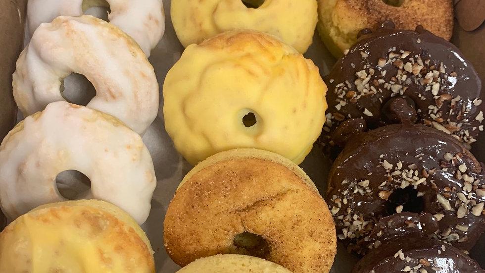 Mixed donut box