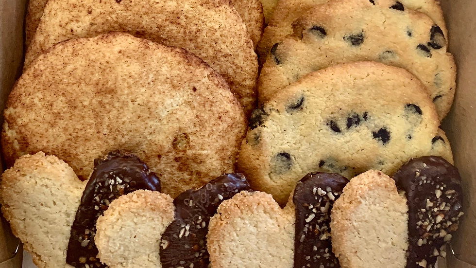 Mixed cookie box