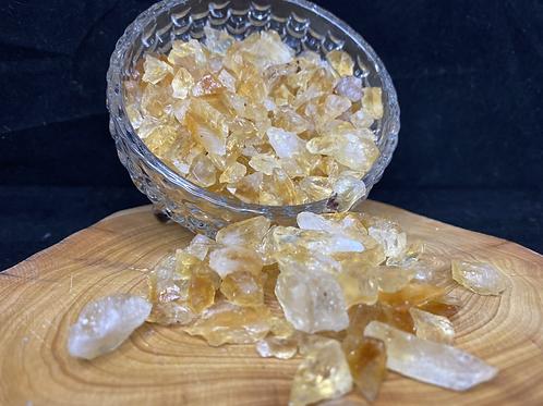 1kg Citrine crystal sand