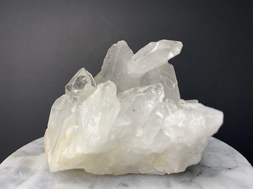 Natural Clear Quartz Cluster