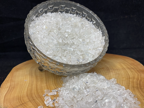 500g Clear Quartz Crystal Sand